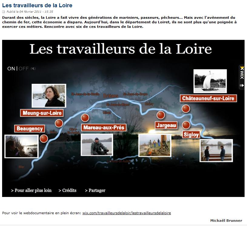 Les travailleurs de la Loire